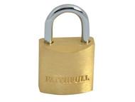 Faithfull FAIPLB20 - Brass Padlock 20mm 3 Keys