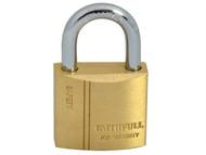 Faithfull FAIPLB30 - Brass Padlock 30mm 3 Keys