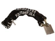 Faithfull FAIPLCHSET - 1 Metre Chain & Padlock