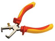 Faithfull FAIPLVDEWS6 - Wire Stripper VDE 160mm