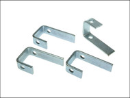 Faithfull FAIPROEXTCB - External Building Profile Clamp Bracket (Pack of 4)