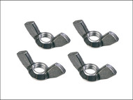 Faithfull FAIPROEXTWN - External Building Profile Wing Nuts (Pack of 4)