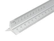 Faithfull FAIRULETRI - Aluminium Rule 300mm Triangle