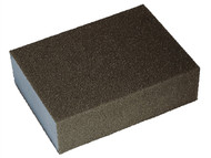 Faithfull FAISBMF - Sanding Block - Medium/Fine 90 x 65 x 25mm