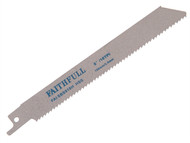 Faithfull FAISBS918H - Sabre Saw Blade Metal S918H (Pack of 5)