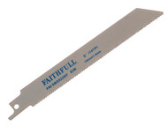 Faithfull FAISBS922BF - Bi-Metal Sabre Saw Blade Metal S922BF (Pack of 5)