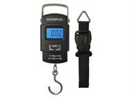 Faithfull FAISCALE50KG - Portable Electronic Scale 0 - 50kg