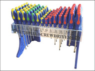 Faithfull FAISDDISP84 - Screwdriver Display Complete 84 Pieces