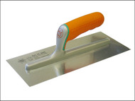 Faithfull FAISGFT - Plasterers Finishing Trowel Soft Grip Handle 11in x 4.3/4in