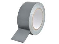 Faithfull FAITAPEGAFHD - Heavy-Duty Gaffa Tape 50mm x 25m Silver
