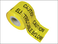 Faithfull FAITAPEUELE - Warning Tape 365m Electric