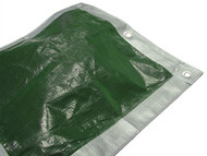 Faithfull FAITARP1818H - Tarpaulin Green/ Silver Heavy-Duty 5.4m x 5.4m (18ft x 18ft)