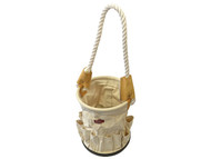 Faithfull FAITBBUCKET - Canvas Tool Bucket With Rope Handle