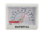 Faithfull FAITHHUMID - Humidity Dial (Hygrometer)