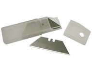 Faithfull FAITKB100 - Heavy-Duty Trimming Knife Blades (Box 100) in safe storage dispenser
