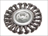 Faithfull FAIWBCT115 - Circular Wire Brush 115mm x 12 x M14 x 2 0.35mm Wire
