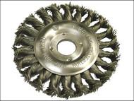 Faithfull FAIWBCT125 - Circular Wire Brush 125mm x 12 x 22.2mm 0.50mm Wire