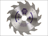 Faithfull FAIZ12814 - Circular Saw Blade 128 x 20mm x 14T Fast Rip