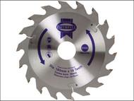 Faithfull FAIZ16518 - Circular Saw Blade 165 x 30mm x 18T Fast Rip