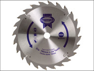 Faithfull FAIZ18024 - Circular Saw Blade 180 x 16mm x 24T Fast Rip