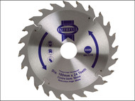 Faithfull FAIZ1802430 - Circular Saw Blade 180 x 20/30mm x 24T Fast Rip