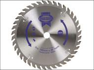 Faithfull FAIZ18040 - Circular Saw Blade 180 x 16mm x 40T Fine Cross Cut