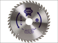 Faithfull FAIZ1804030 - Circular Saw Blade 180 x 20/30mm x 40T Fine Cross Cut