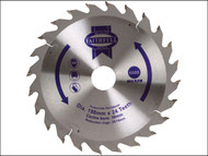 Faithfull FAIZ1902430 - Circular Saw Blade 190 x 16/20/30mm x 24T Fast Rip