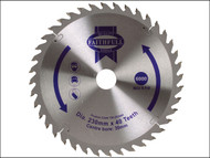 Faithfull FAIZ23040 - Circular Saw Blade TCT 230 x 30mm x 40T Fine Cross Cut