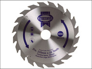 Faithfull FAIZ23520 - Circular Saw Blade TCT 235 x 16/20/30/35mm x 20T Fast Rip