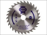 Faithfull FAIZ23530 - Circular Saw Blade TCT 235 x 16/20/30/35mm x 30T General-Purpose