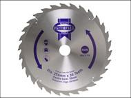 Faithfull FAIZ25024 - Circular Saw Blade 250 x 16/25/30mm x 24T Fast Rip