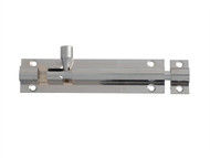 Forge FGEDBLTCH4 - Door Bolt - Chrome Finish 100mm (4in)