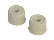 Forge FGEDSNYLON - Door Stop - Nylon Round Type 32mm Pack of 2