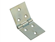 Forge FGEHNGBFZP38 - Backflap Hinge Zinc Plated 40mm (1.5in) Pack of 2