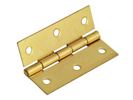 Forge FGEHNGBTBP65 - Butt Hinge Brass Finish 65mm (2.5in) Pack of 2