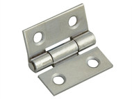 Forge FGEHNGBTPC25 - Butt Hinge Polished Chrome Finish 25mm (1in) Pack of 2