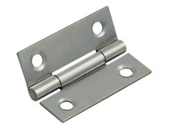 Forge FGEHNGBTPC50 - Butt Hinge Polished Chrome Finish 50mm (2in) Pack of 2