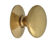 Forge FGEKNOBVBR25 - Cupboard Knobs - Victorian Brass Finish 25mm Pack of 5