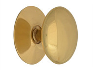 Forge FGEKNOBVBR40 - Cupboard Knobs - Victorian Brass Finish 40mm Pack of 5