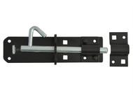 Forge FGEPBLTBLK6 - Padlock Bolt Black Powder Coated 150mm (6in)
