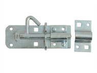 Forge FGEPBLTGAL4 - Padlock Bolt Zinc Plated 100mm (4in)