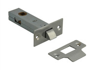 Forge FGETUBLNC3 - Tubular Mortice Latch Nickel Finish 76mm (3in)