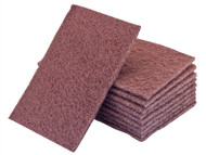 Flexipads World Class FLE34005 - Hand Pads Maroon Standard Very Fine 150 x 223mm (10)