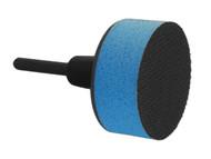 Flexipads World Class FLE48210 - Spindle Pad Soft Face VELCRO Brand 50mm