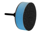 Flexipads World Class FLE48215 - Spindle Pad Soft Face VELCRO Brand 75mm