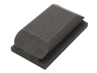 Flexipads World Class FLE56010 - Hand Sanding Block Shaped Black 70 x 125mm