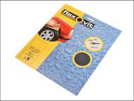 Flexovit FLV26303 - Waterproof Sanding Sheets 230 x 280mm Fine 400g (3)