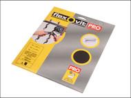 Flexovit FLV26304 - Emery Cloth Sanding Sheets 230 x 280mm Medium 80g (3)