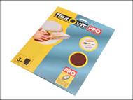 Flexovit FLV26312 - Aluminium Oxide Sanding Sheets 230 x 280mm Medium 80g (3)